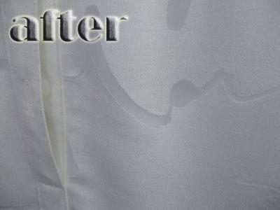 HANAE MORI (モリハナエ)のシャツの染み抜き